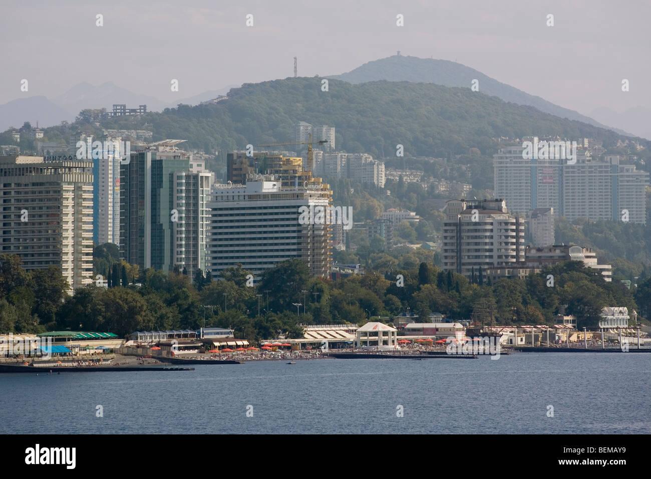 Russia Caucasus Sochi - Stock Image