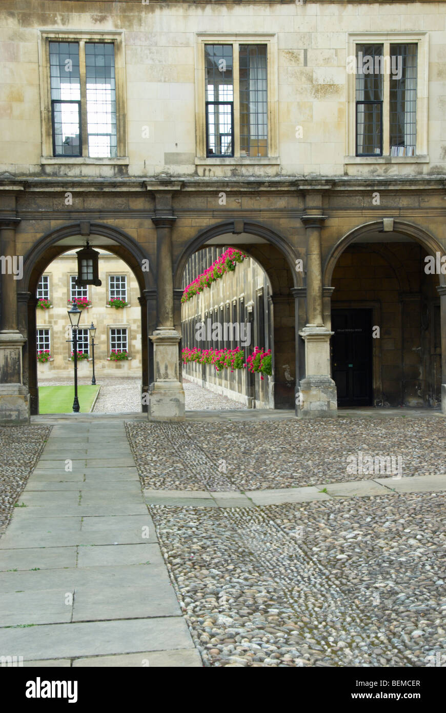 Peterhouse College, Cambridge - Stock Image