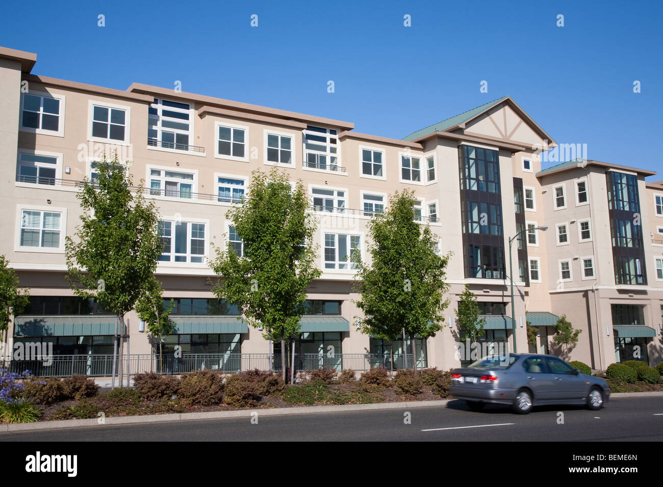 Mixed use housing development (multi use)  Residential condominiums