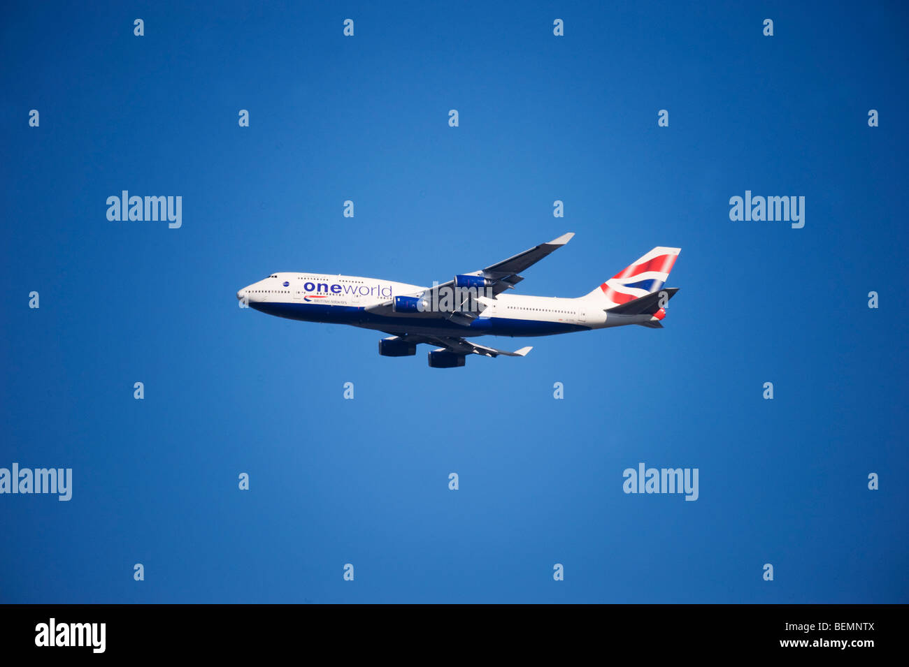 British Airways Boeing 747 jumbo jet Stock Photo