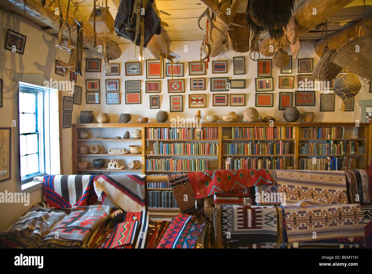 Inside The Rug Room At Hubbell Trading Post National Historic Site
