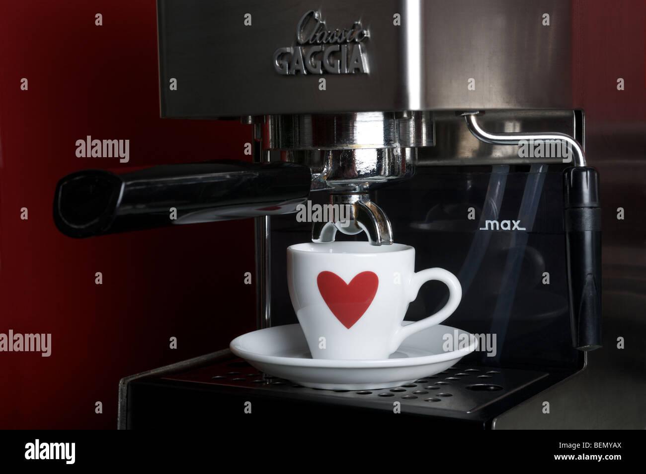 Gaggia Coffee Machine Stock Photos Gaggia Coffee Machine Stock