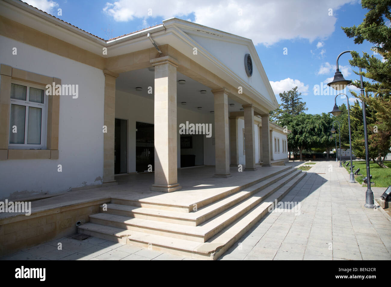 Museum of Natural History in Larnaca Republic of Cyprus europe - Stock Image