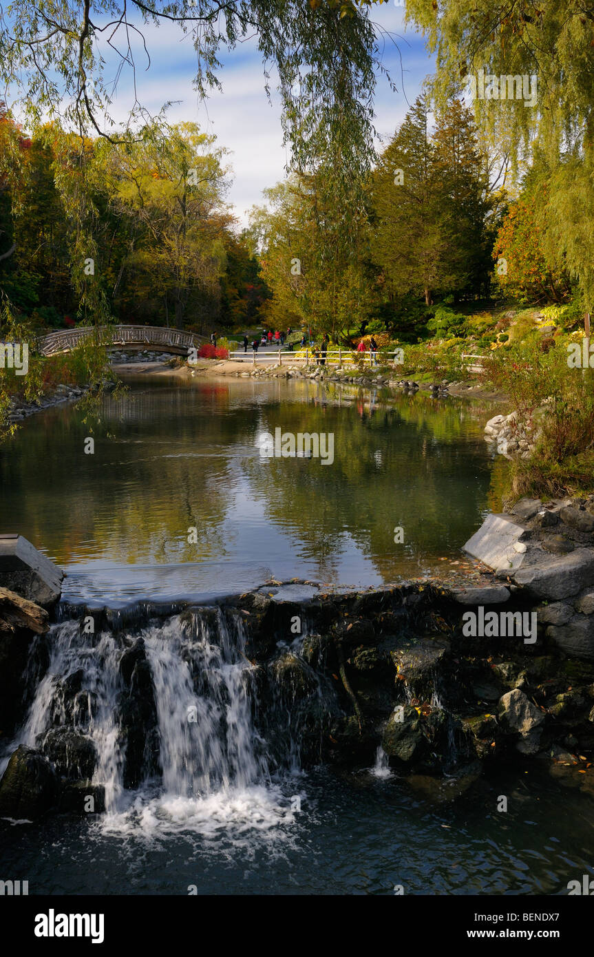Toronto Botanical Garden Edwards Garden Stock Photos & Toronto ...