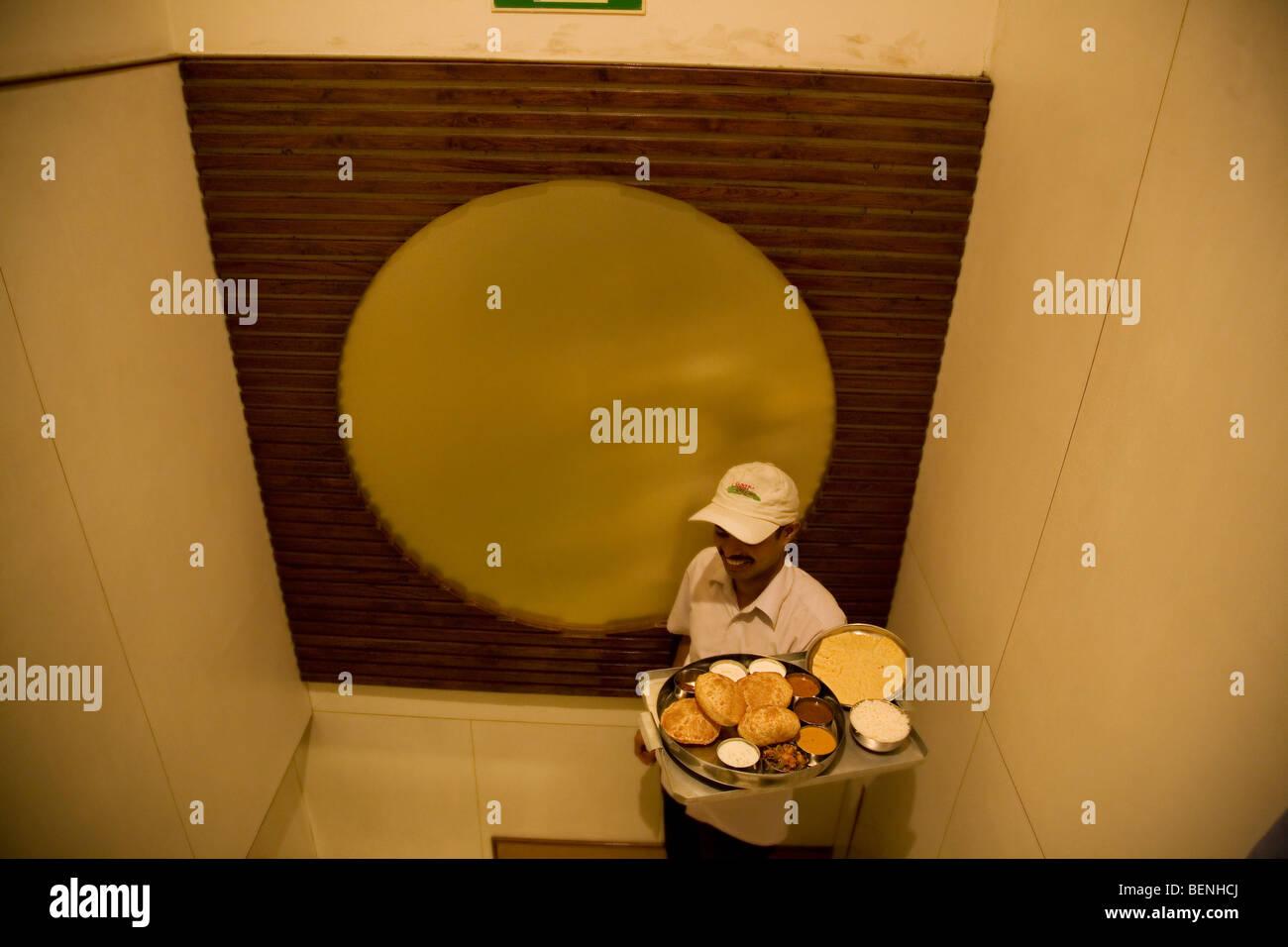 Sagar Ratna Restaurant in Defence Colony Delhi India - Stock Image