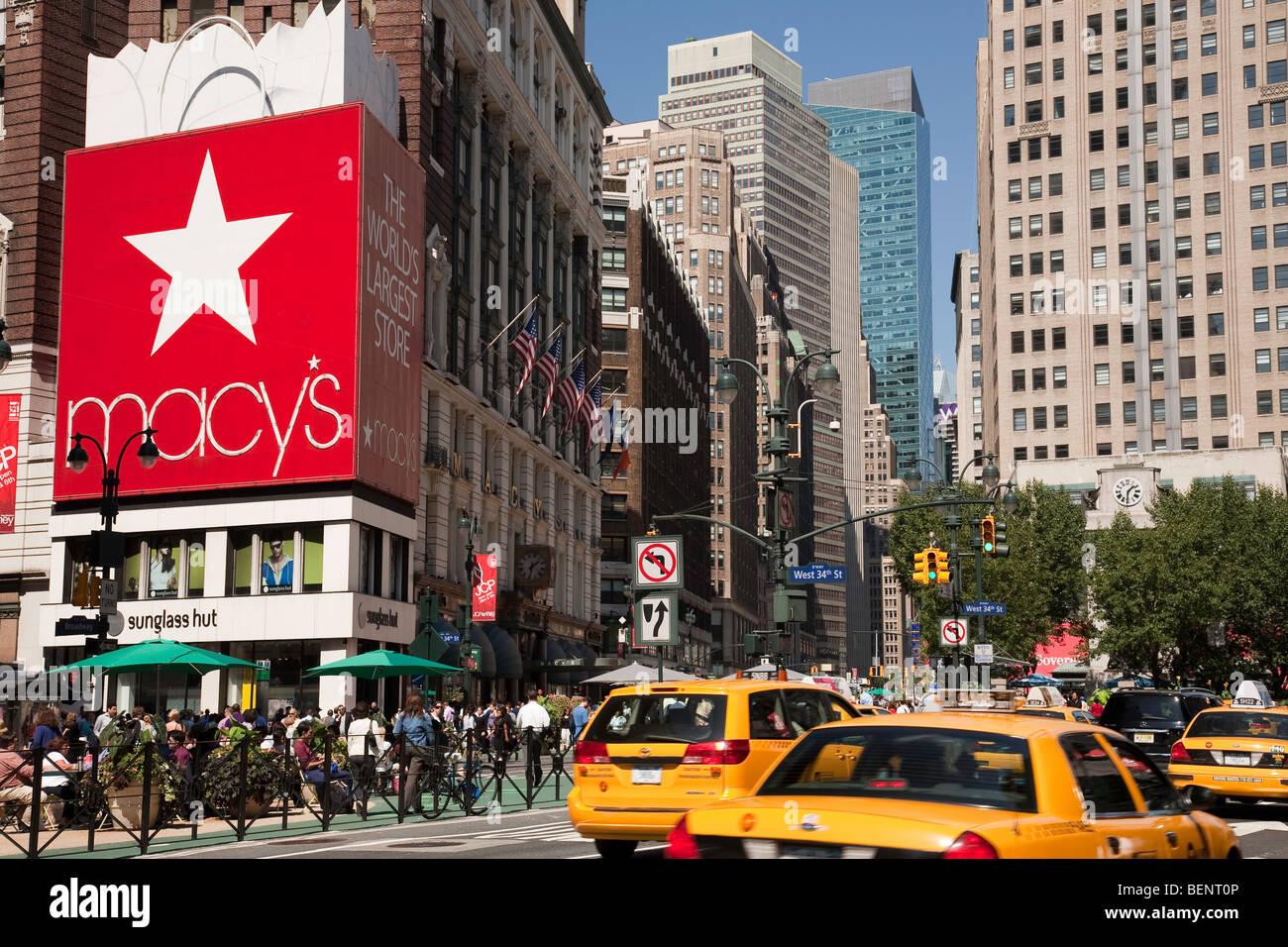 Herald Square in New York City Stock Photo