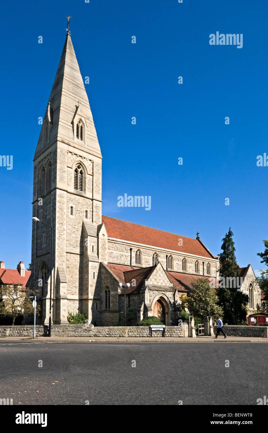St Mary Magdalene parish church, Enfield, UK Stock Photo