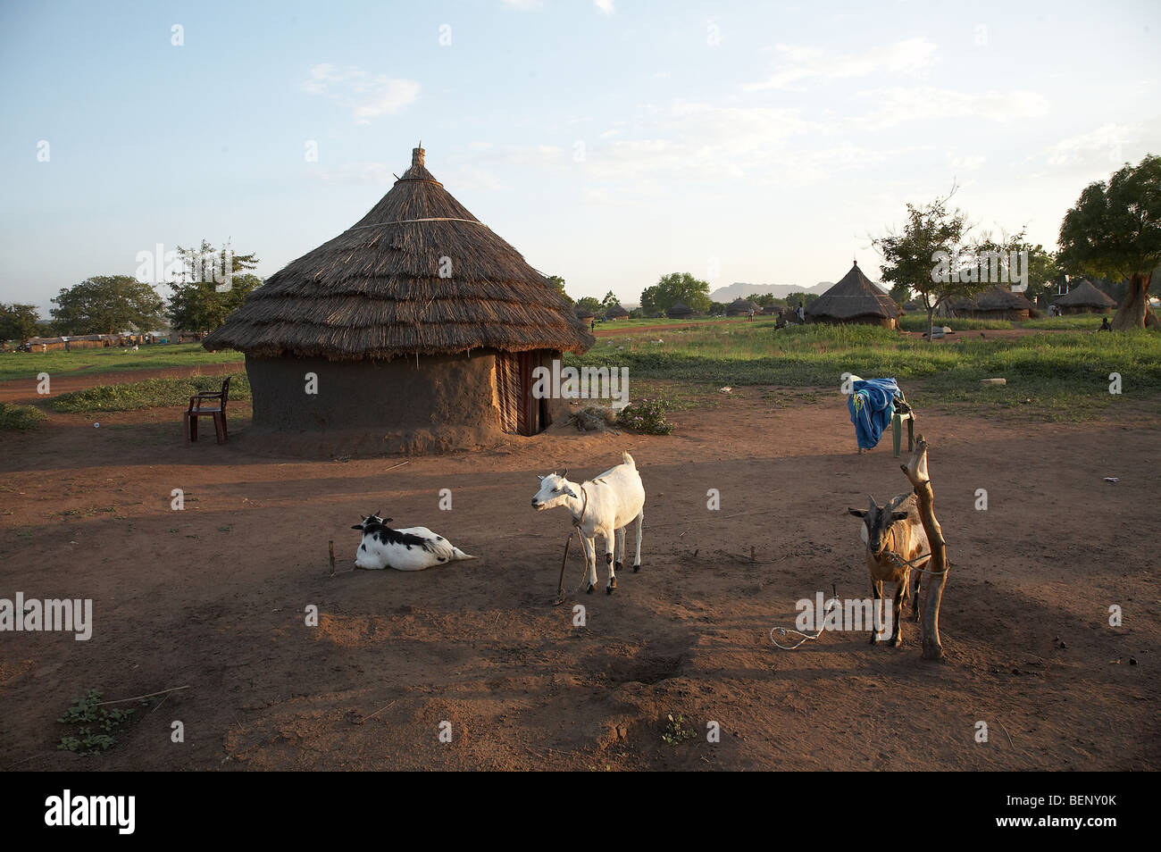 SOUTH SUDAN Rokwe Leper Colony on the edge of Juba. - Stock Image