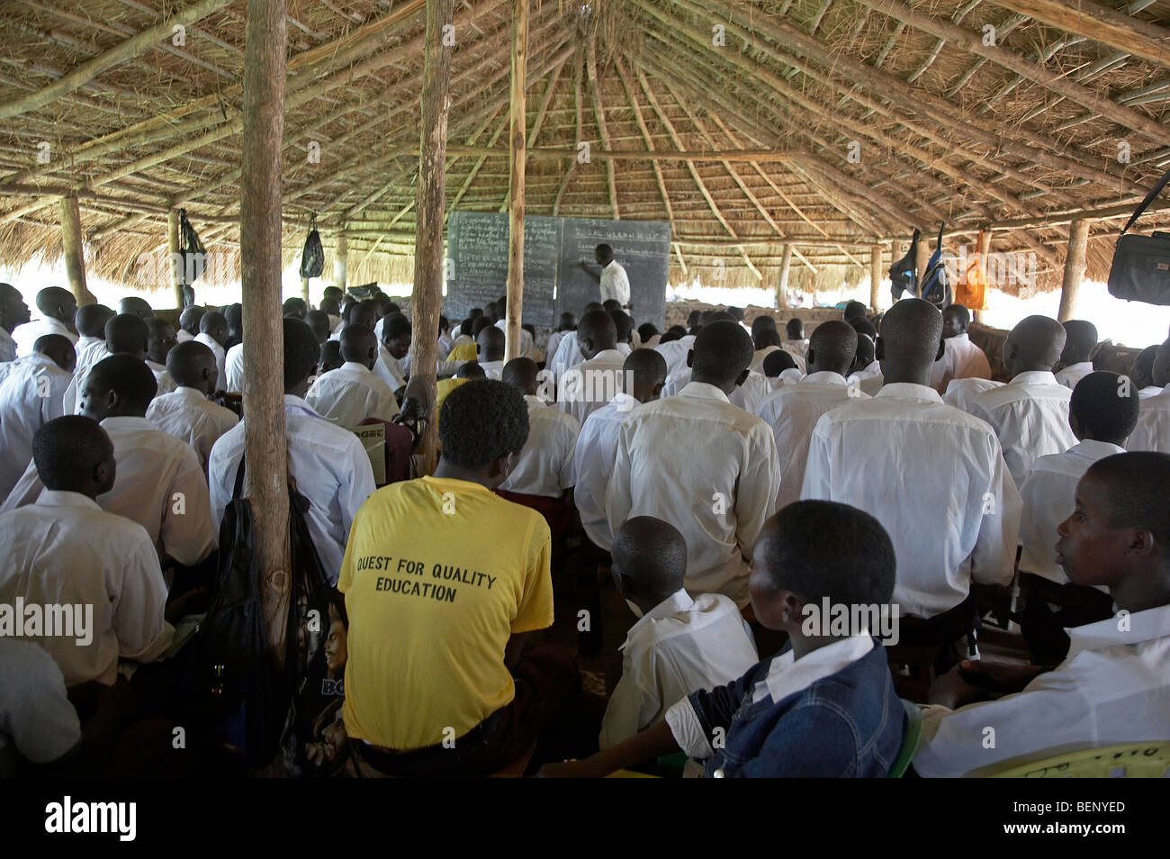 SOUTH SUDAN King's College, Yei. A privately run secondary school - Stock Image