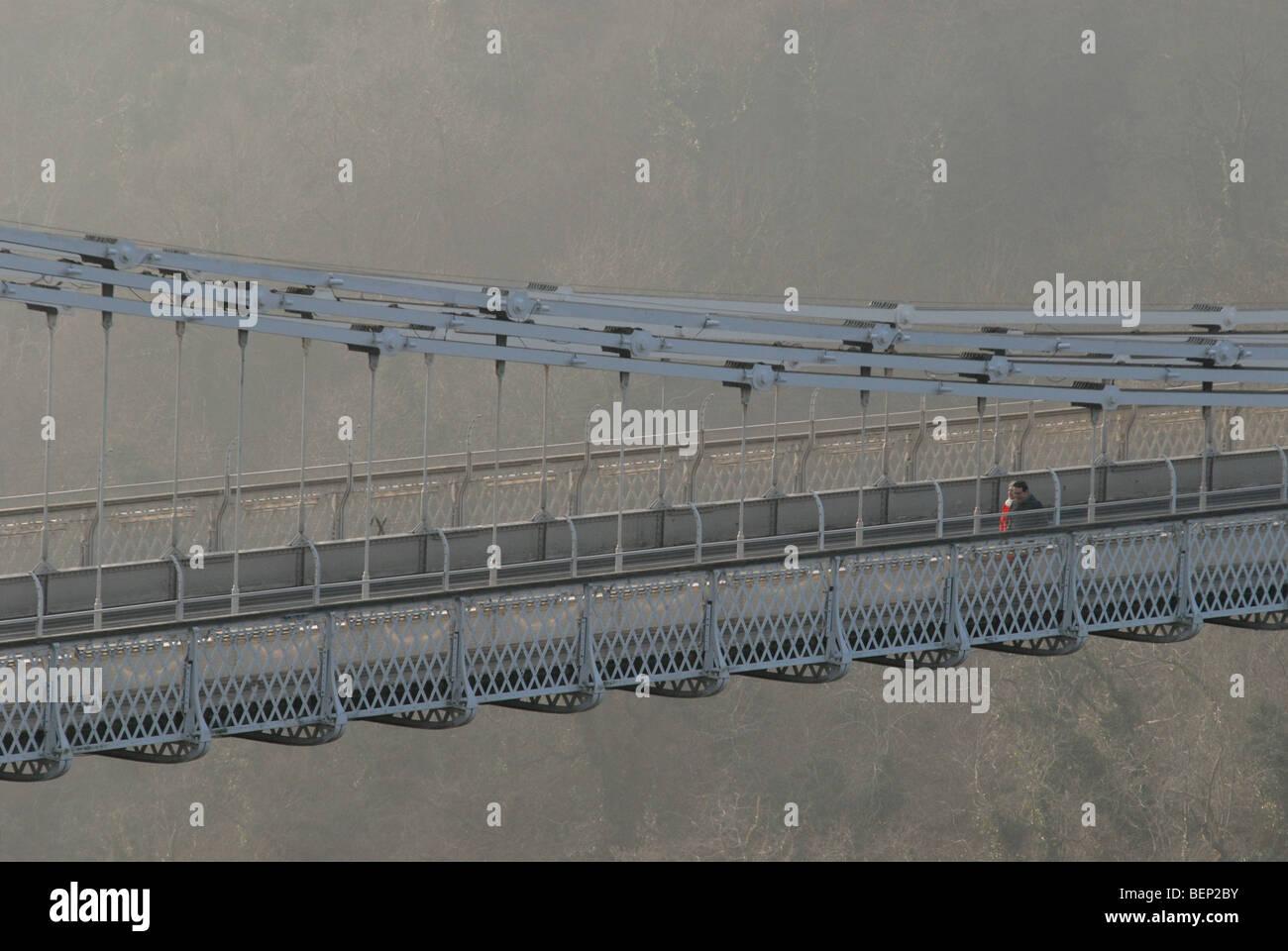 The Clifton Suspension Bridge over the River Avon, Bristol, UK. - Stock Image