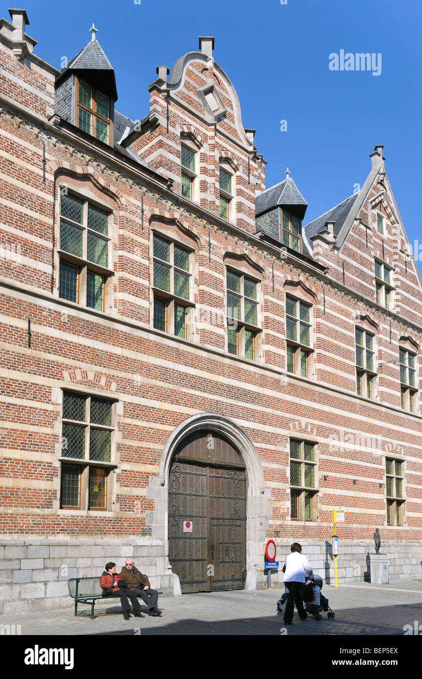 Refugee house of the Herkenrode abbey, Hasselt, Belgium - Stock Image