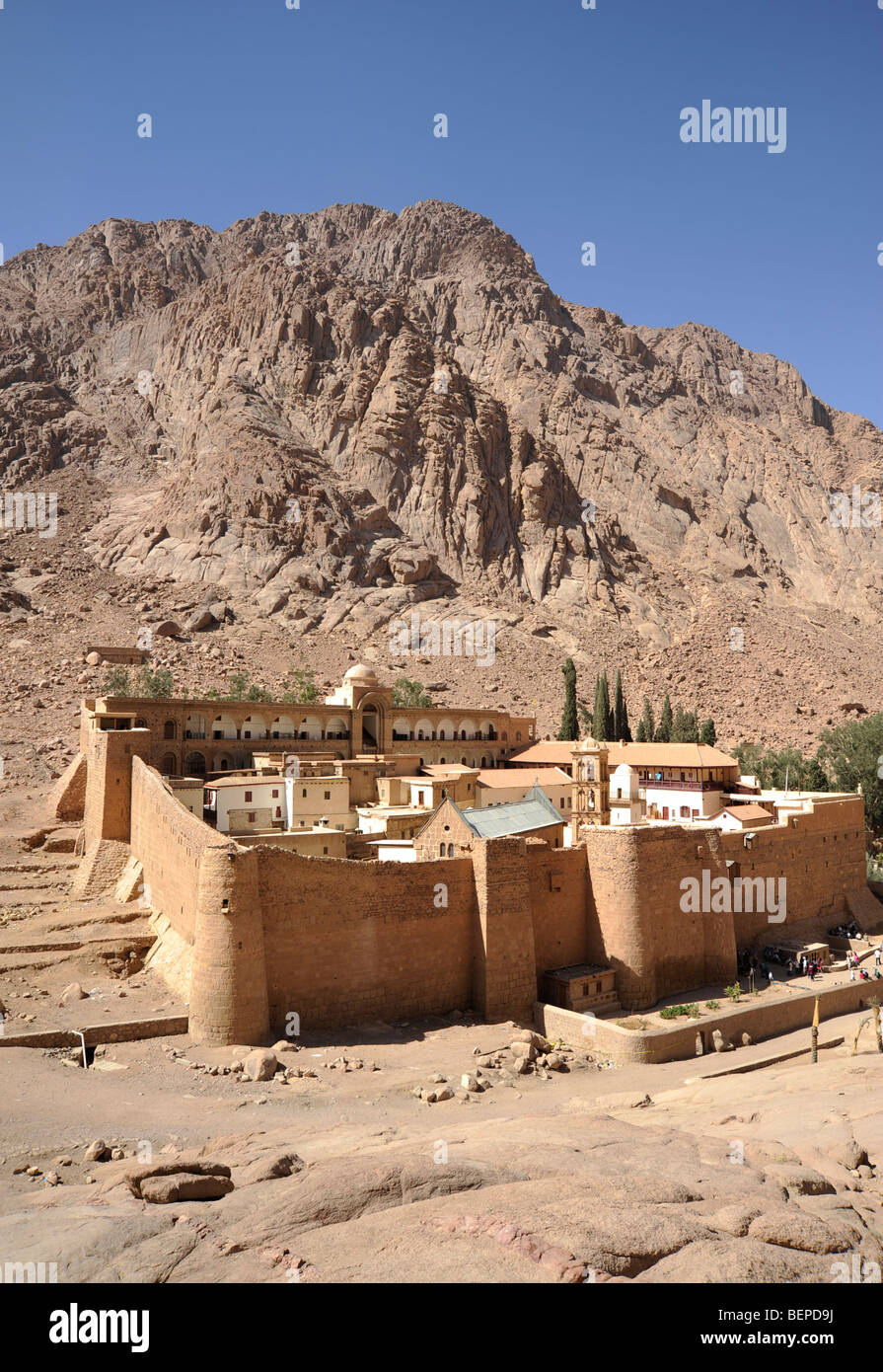 St. Catherines monastery in Sinai Egypt - Stock Image