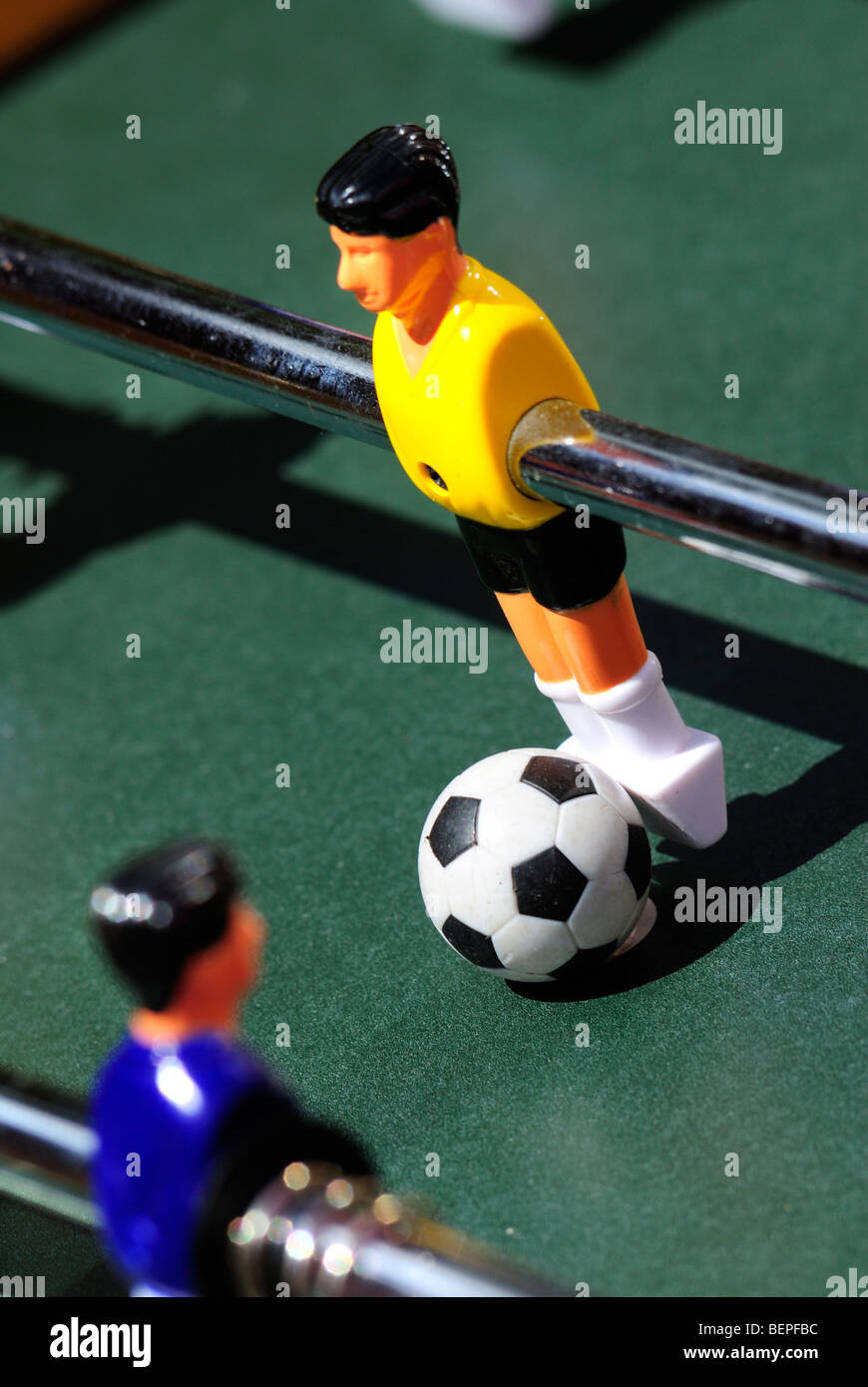 Table Football - August 2009 - Stock Image