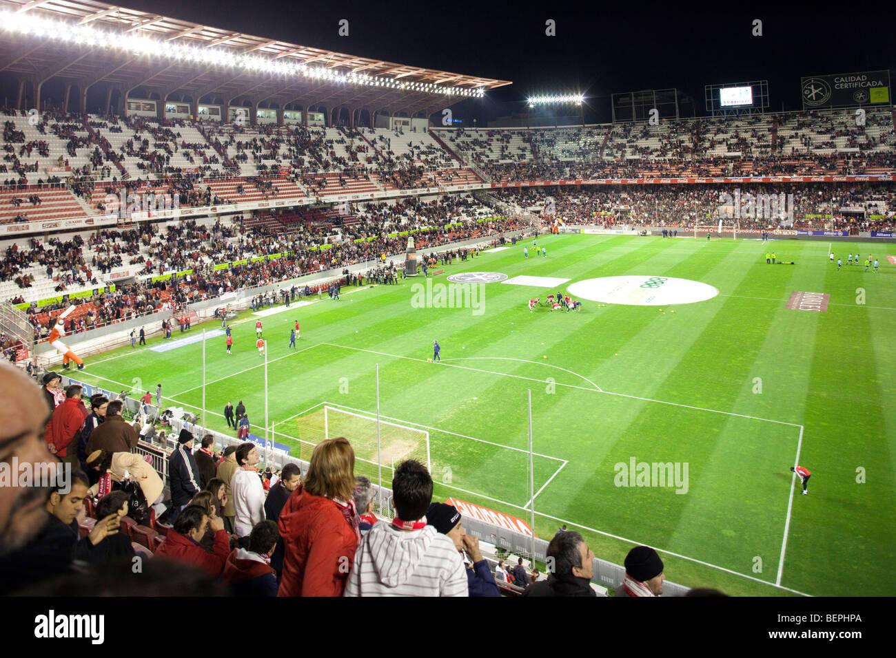 View Of Sanchez Pizjuan Stadium Belonging To Sevilla Fc Seville Spain Stock Photo Alamy