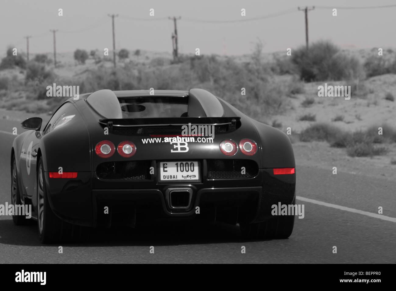 Bugatti Veyron Back   Stock Image