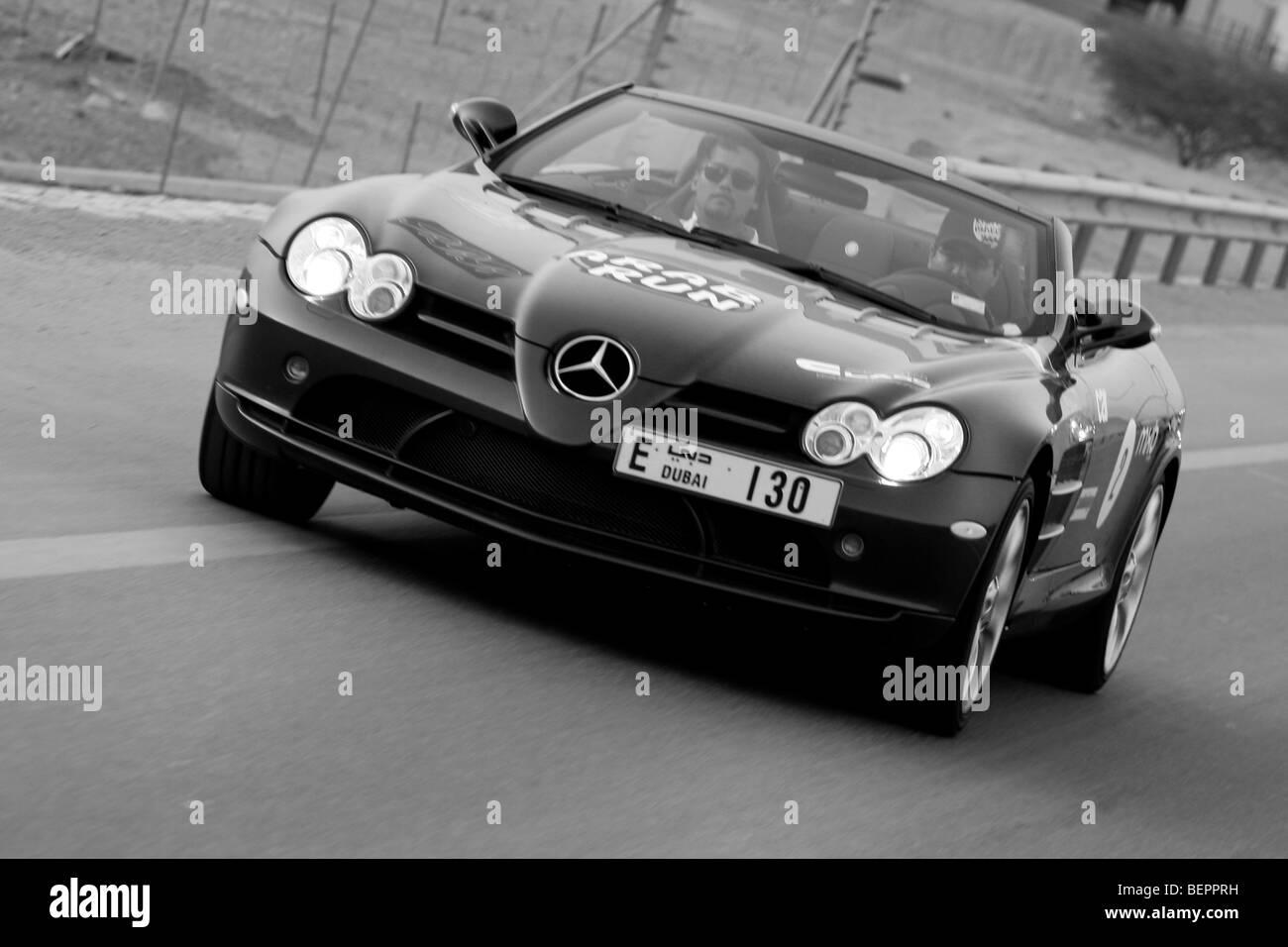 Mercedes SLR Roadster - Stock Image