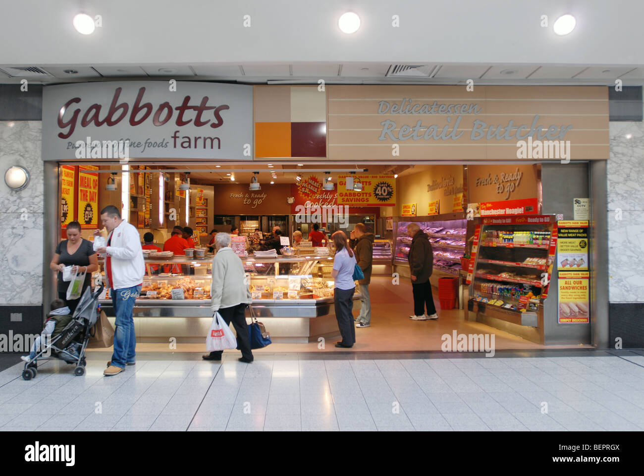 Gabbots Farm, Manchester Arndale - Stock Image