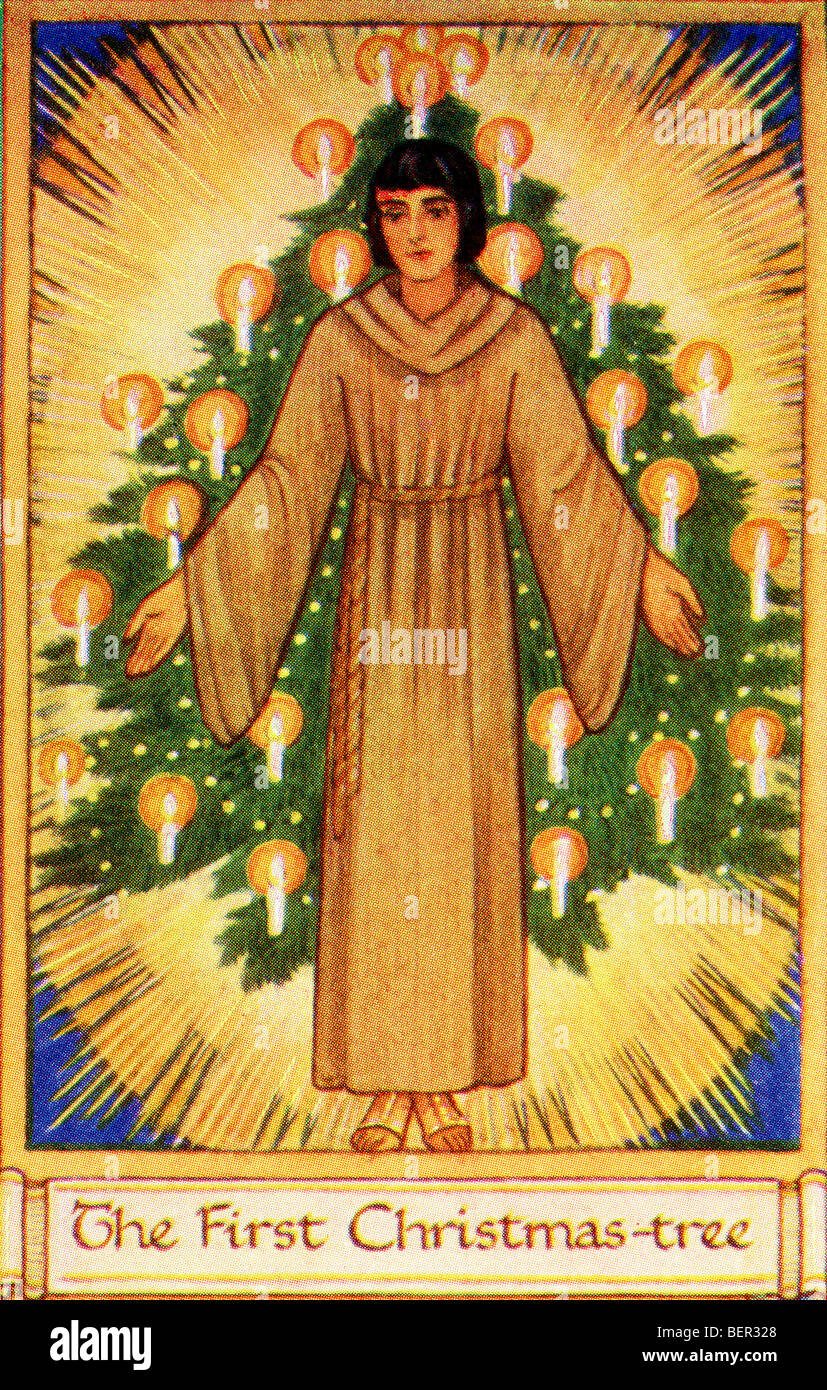 The First Christmas Tree came from Germany where Martin ...