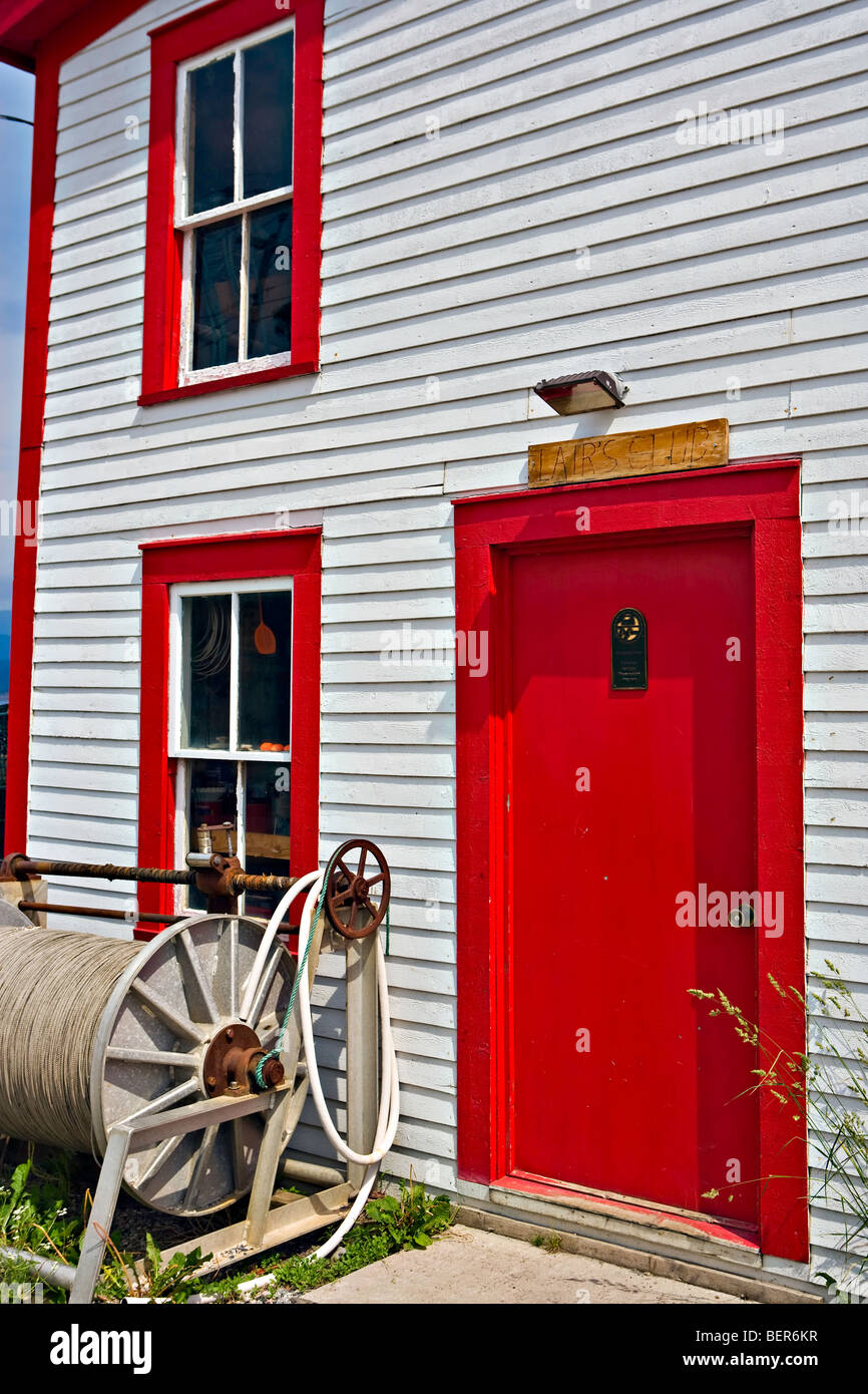 Roberts Store a Historic Property in Woody Point, Gros Morne National Park, UNESCO World Heritage Site, Viking Trail, - Stock Image