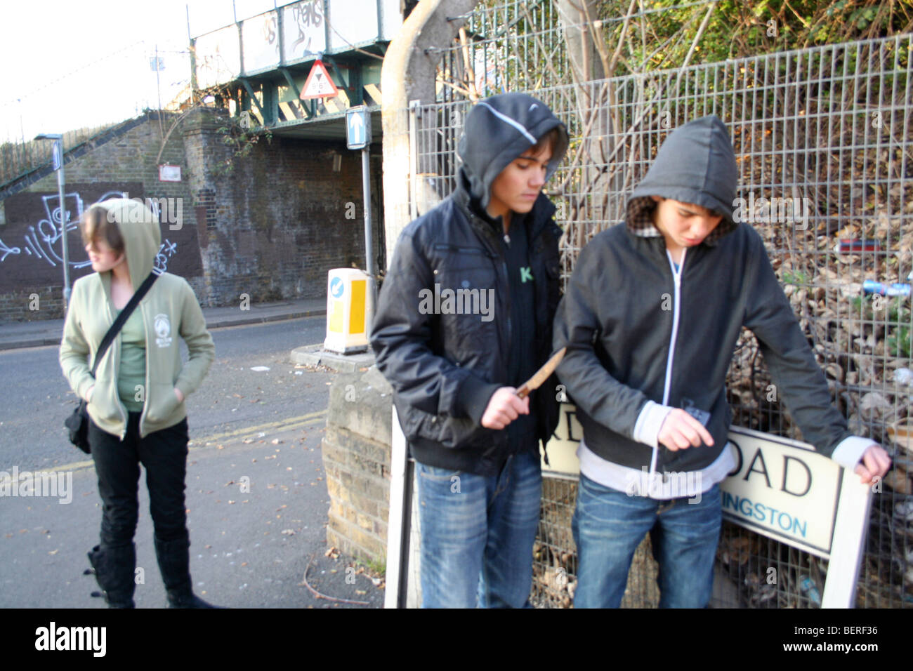 Street Fight Attack Being Mugged Stock Photo 26332298 Alamy