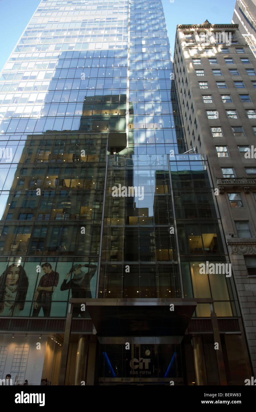 CIT Group Inc. headquarters in New York - Stock Image