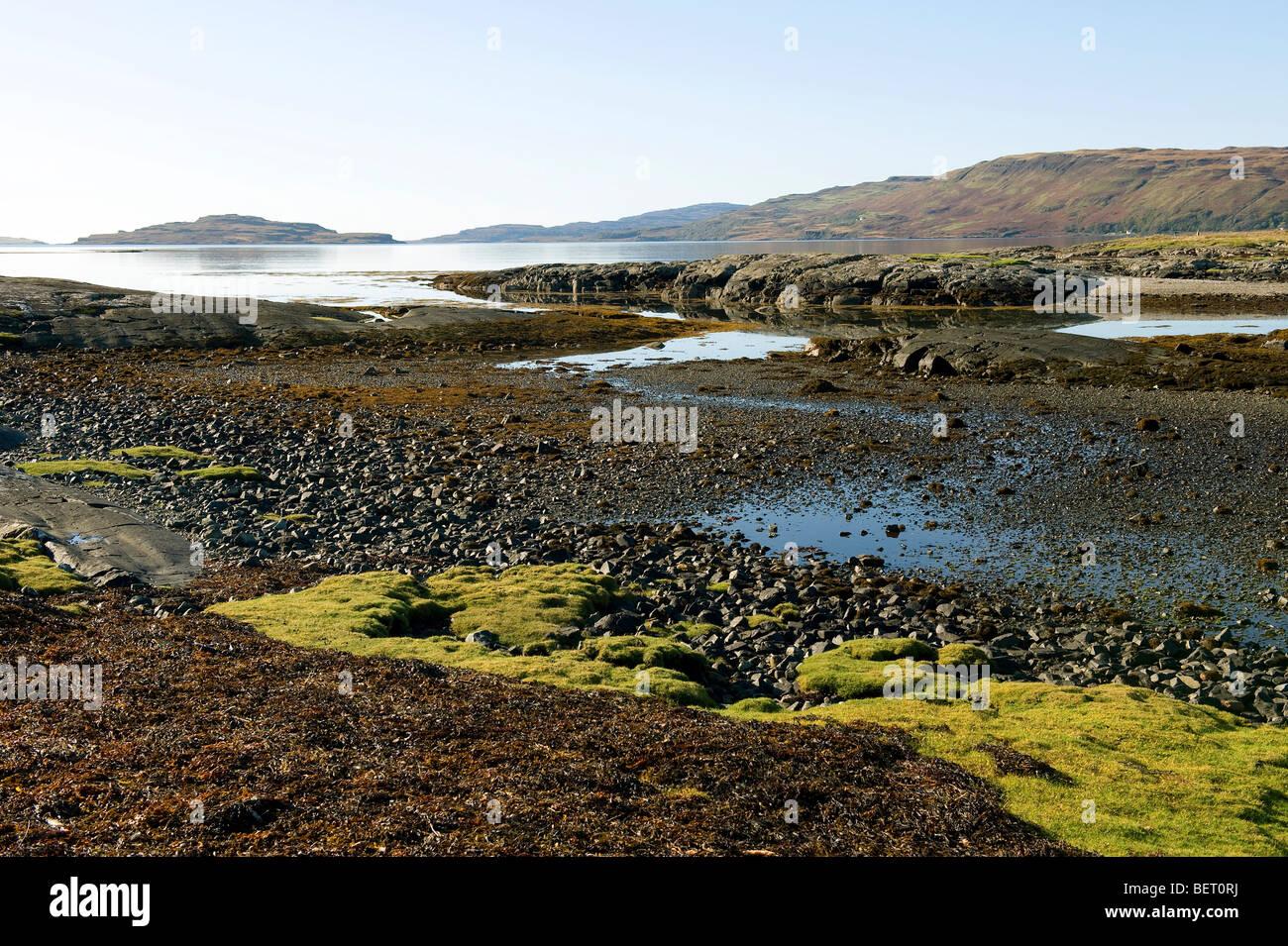 loch na keal, isle of mull, scotland - Stock Image