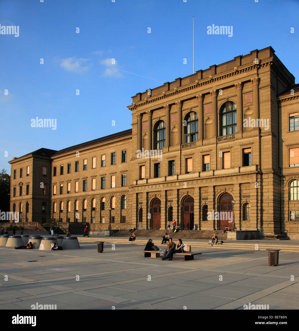 Switzerland, Zurich, University Polythechnicum - Stock Image