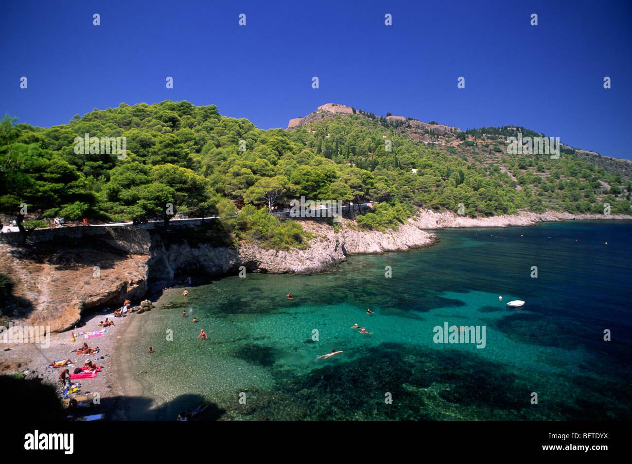 greece, ionian islands, kefalonia, assos - Stock Image