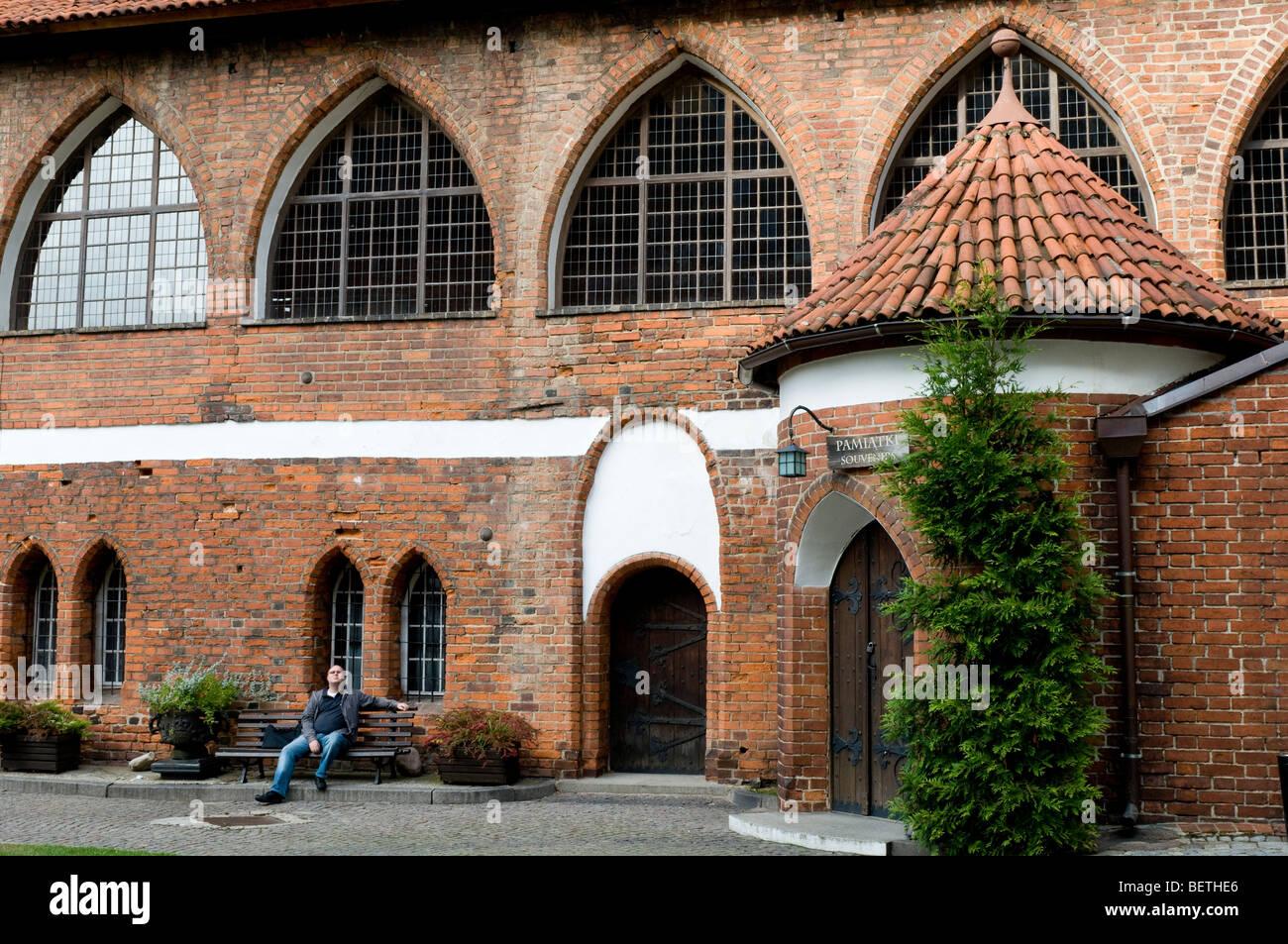 Ordensburg castle built by the Teutonic Knights, Olsztyn, Poland, Europe - Stock Image