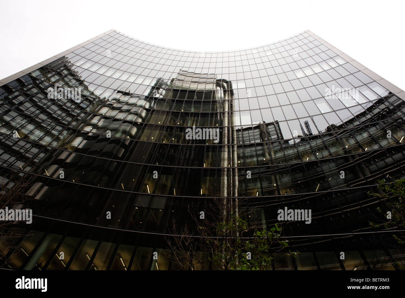 The Willis Building occupied by the risk management company, Willis Group. City of London. Britain. UK - Stock Image