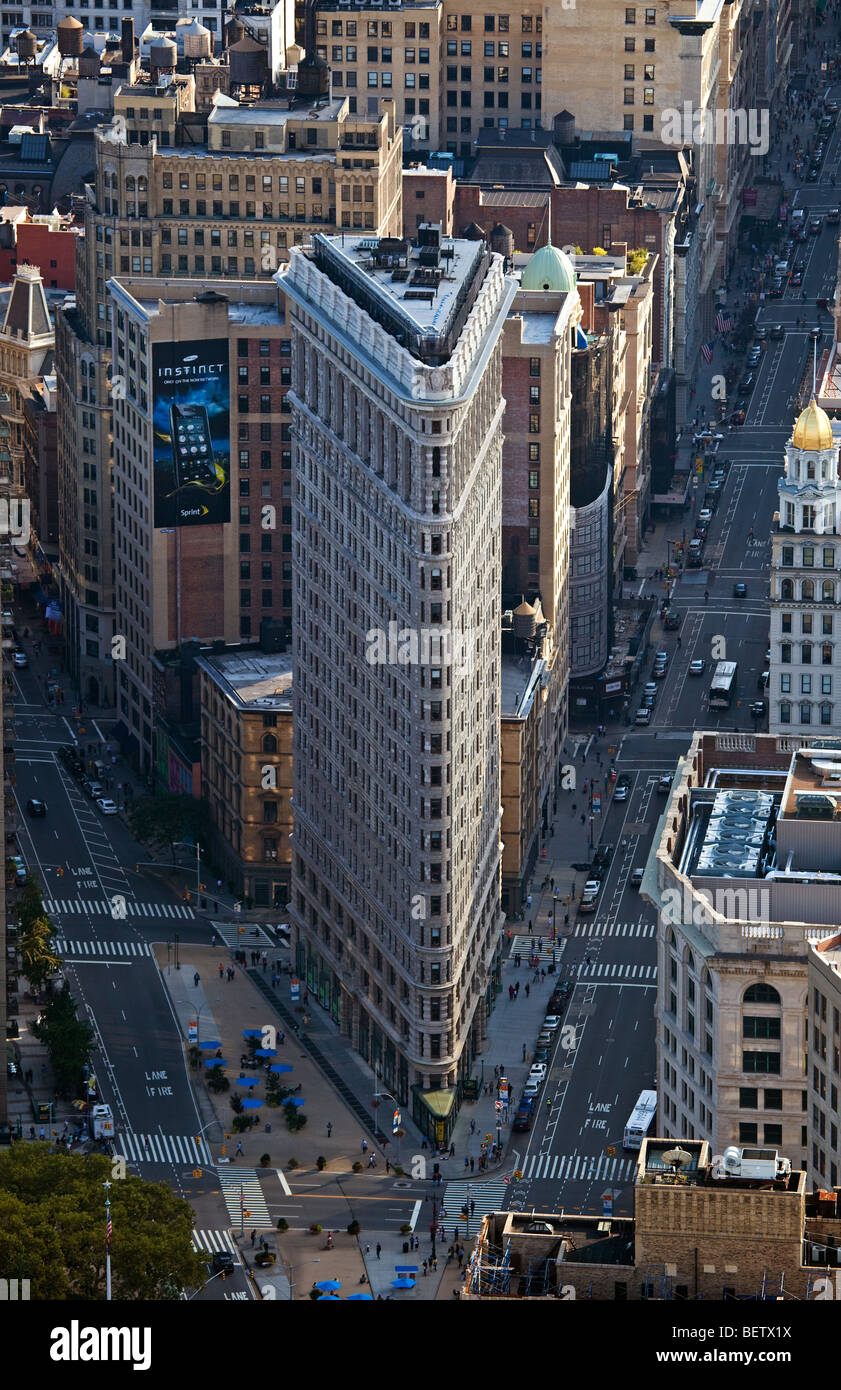 Flatiron Building, New York - Stock Image