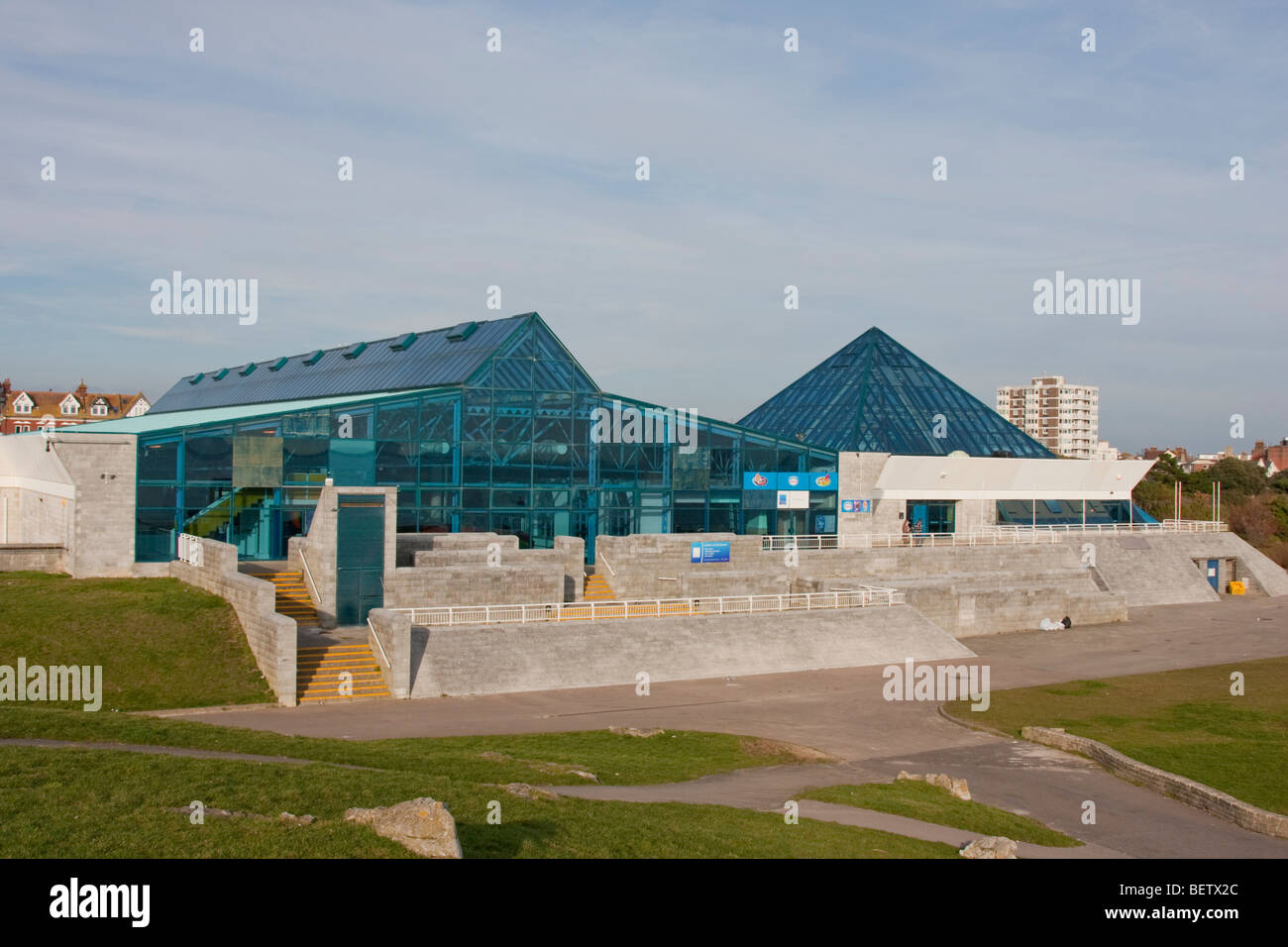 Portsmouth Pyramids Centre in Southsea, England UK. Stock Photo