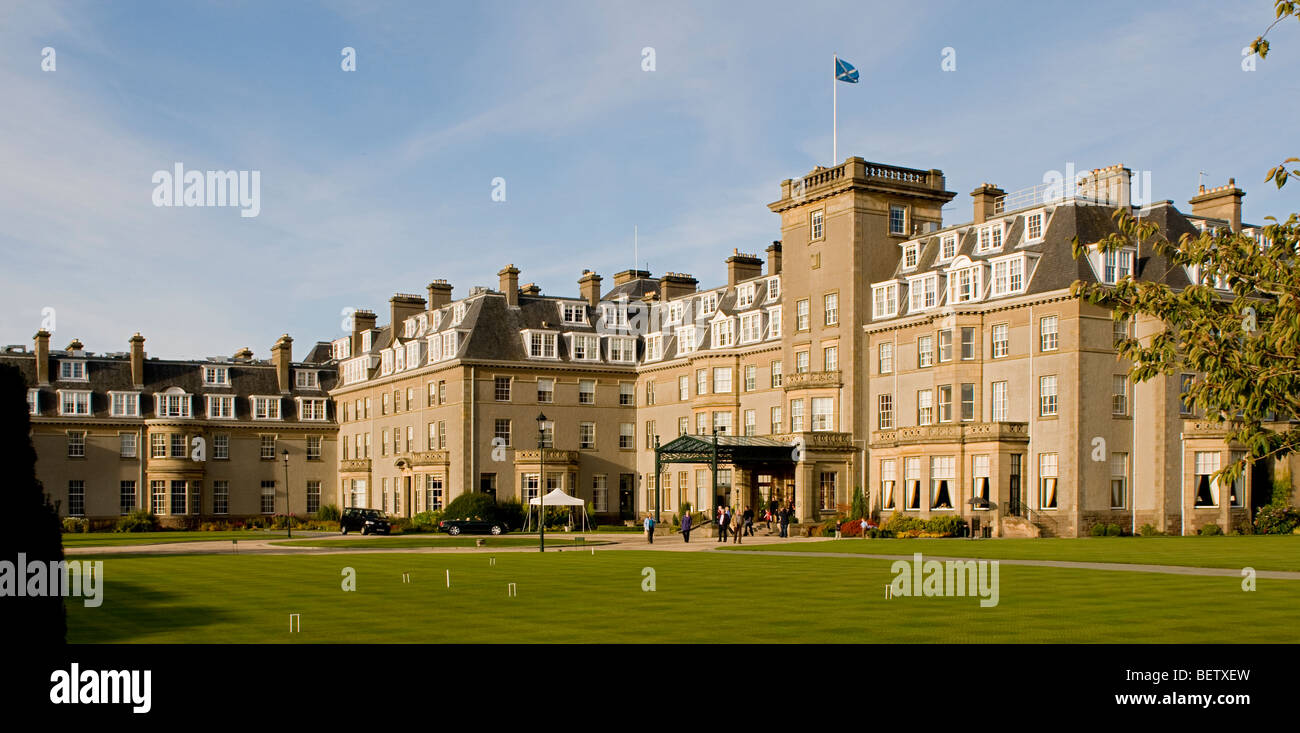 Gleneagles Hotel and Golf Course , Scotland - Stock Image