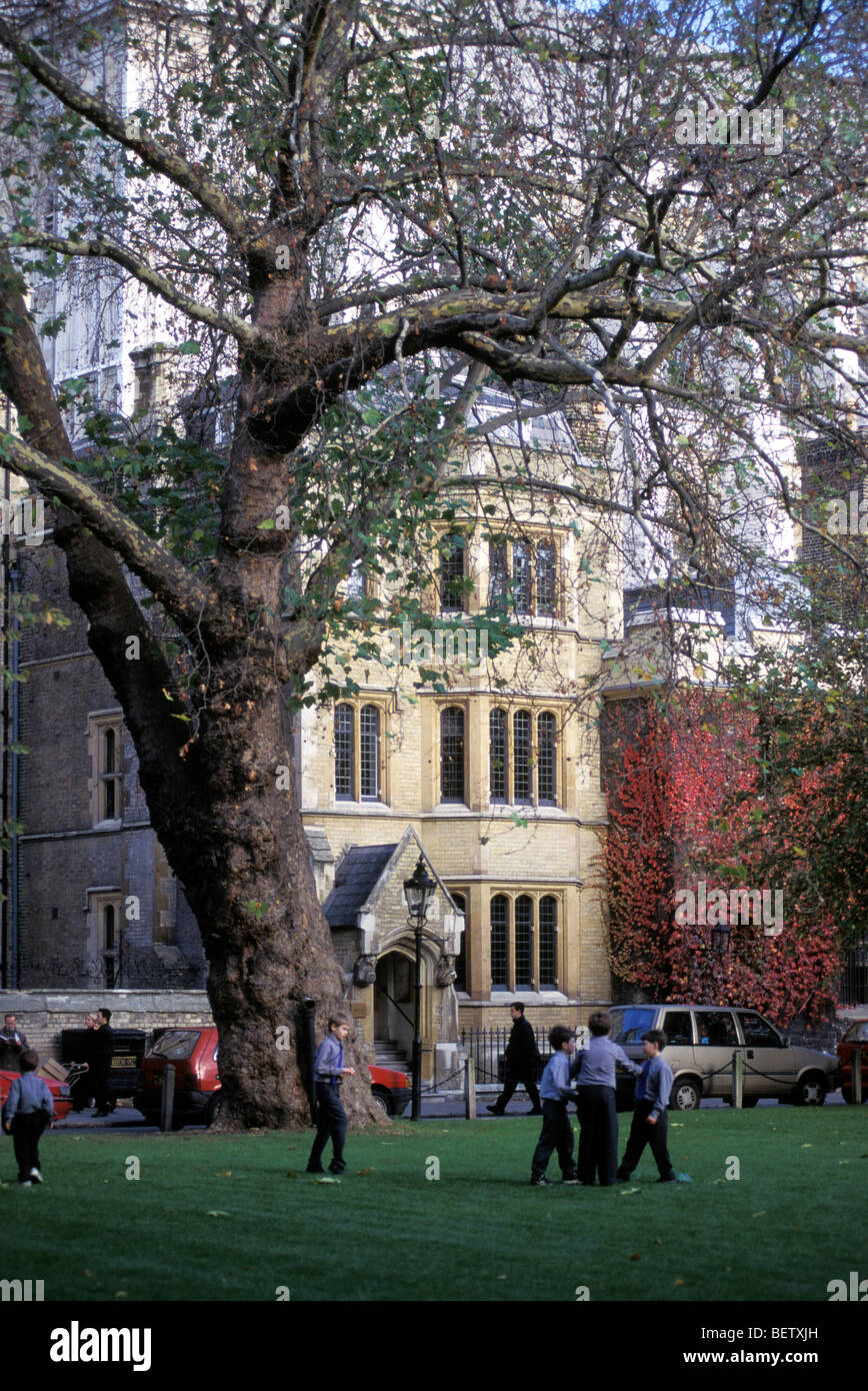 Westminster Private school, London. United Kingdom - Stock Image