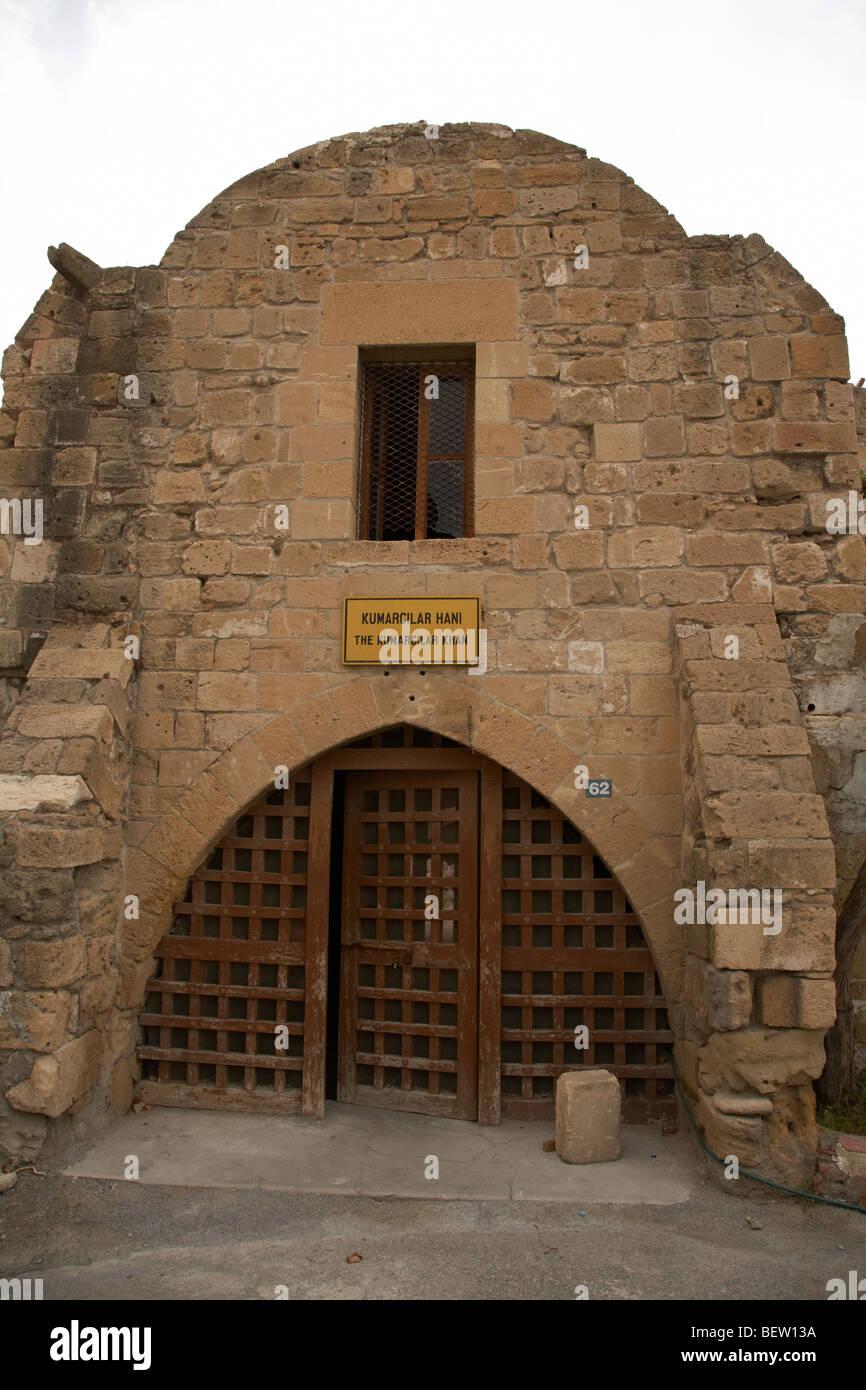 Kumarcilar Han the gamblers inn in nicosia TRNC turkish republic of northern cyprus - Stock Image
