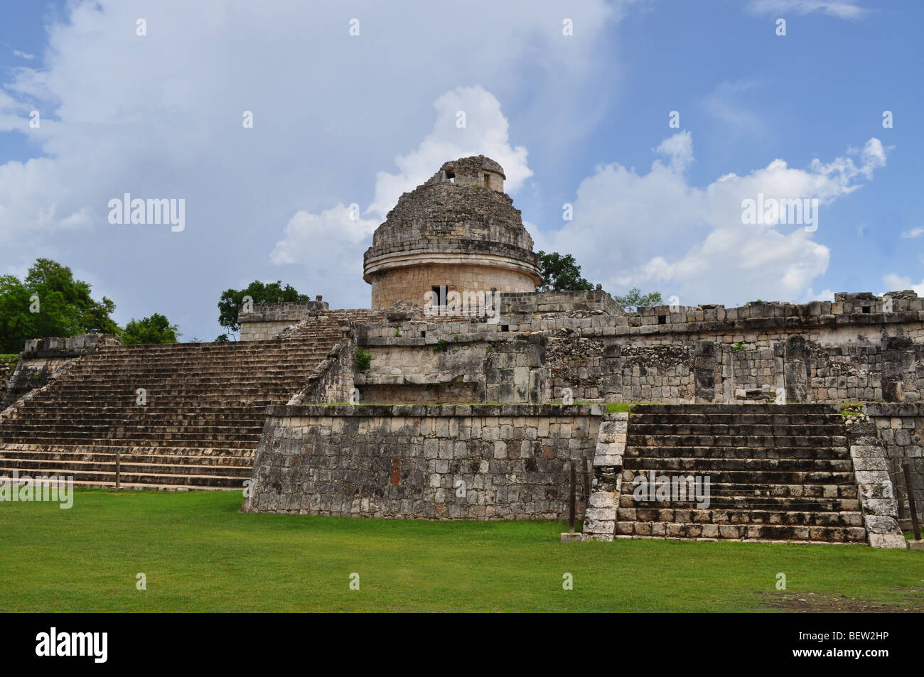 Mayan Observatory - Stock Image