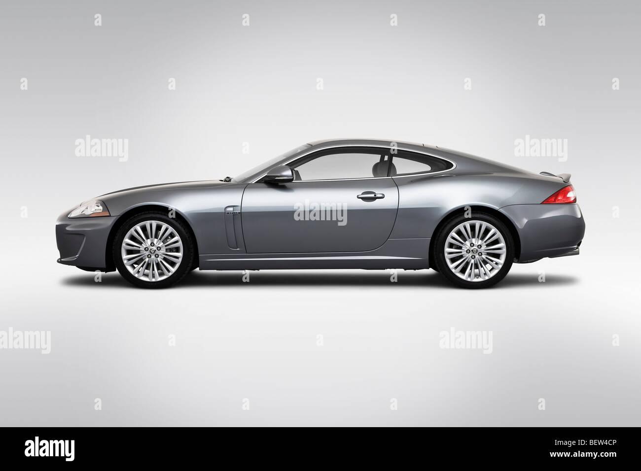 2010 Jaguar XK In Gray   Drivers Side Profile