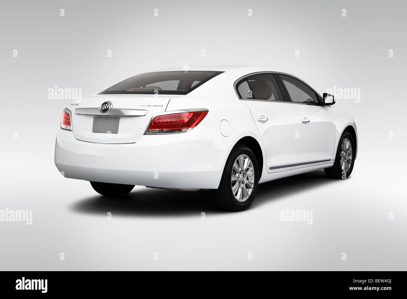 2010 buick lacrosse cx in white rear angle view stock photo 2010 buick lacrosse cx in white rear angle view publicscrutiny Images