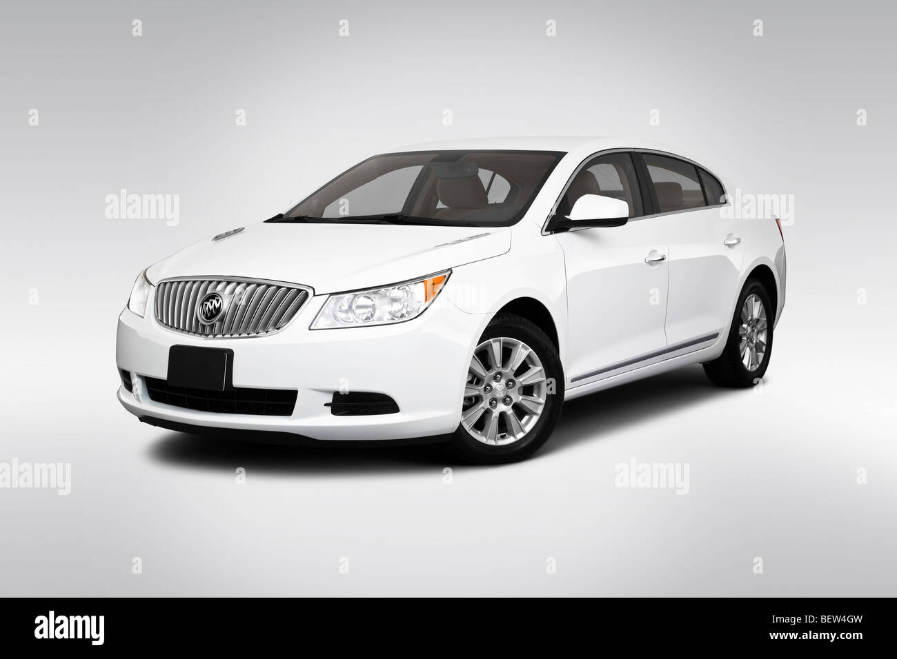 2010 buick lacrosse cx in white front angle view stock photo 2010 buick lacrosse cx in white front angle view publicscrutiny Images