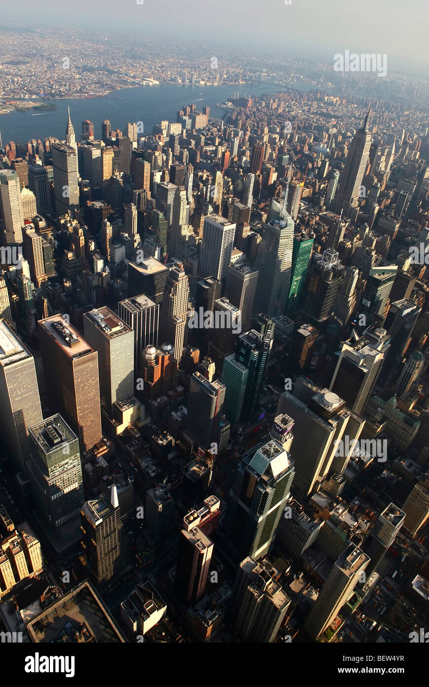 New York City aerial - Stock Image