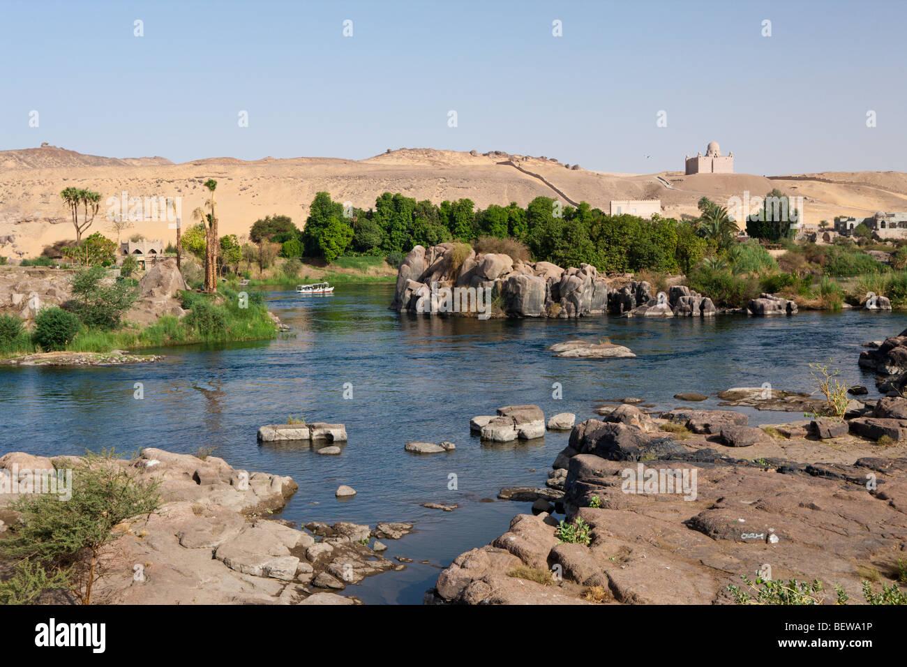 Nile River Cataract Aswan Egypt Stock Photo 26372242 Alamy