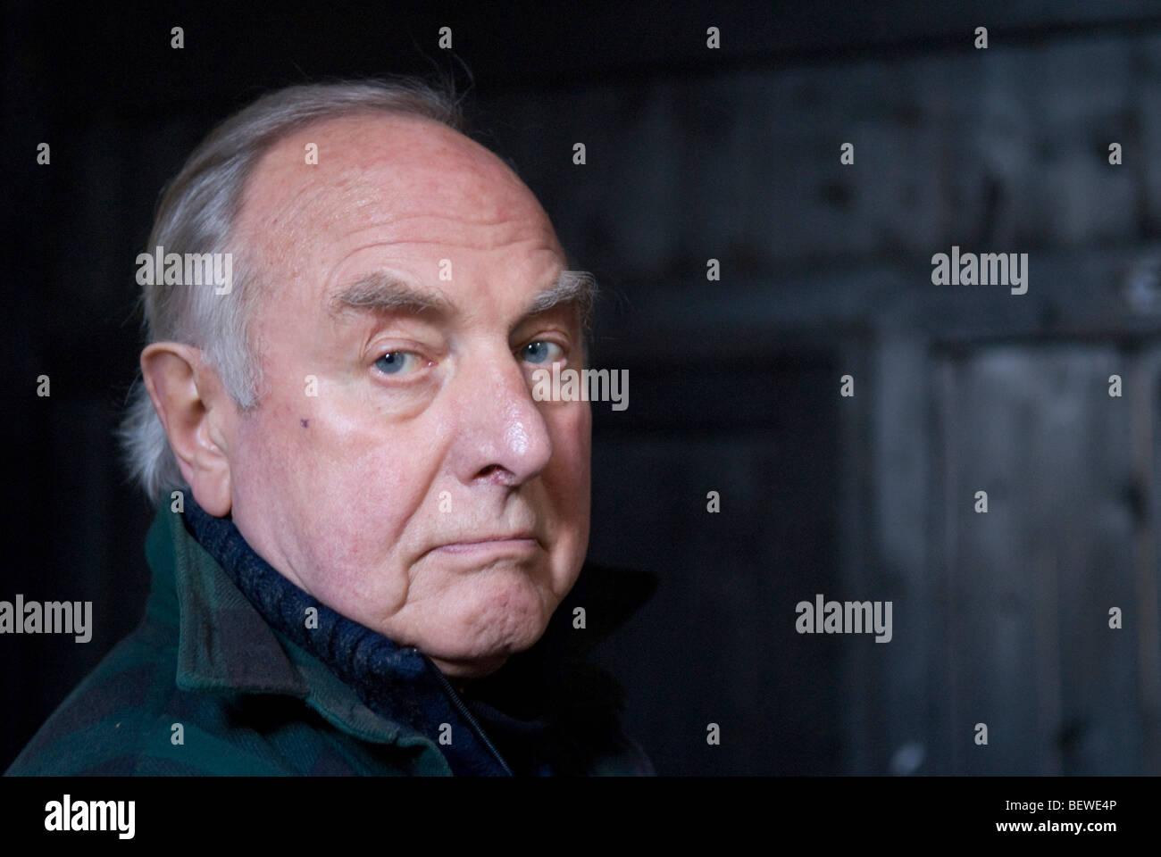 Portrait of James Butler, sculptor - Stock Image