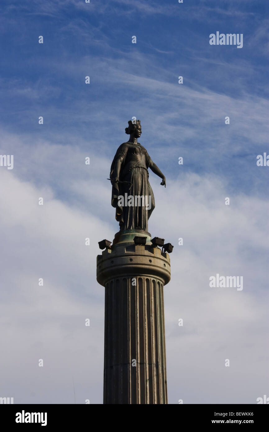 Statue of the Déesse,France - Stock Image