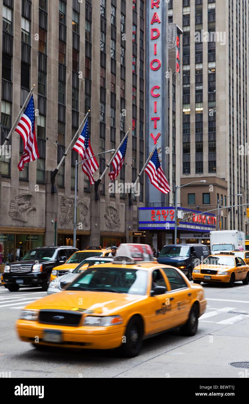Radio City Music Hall, New York - Stock Image