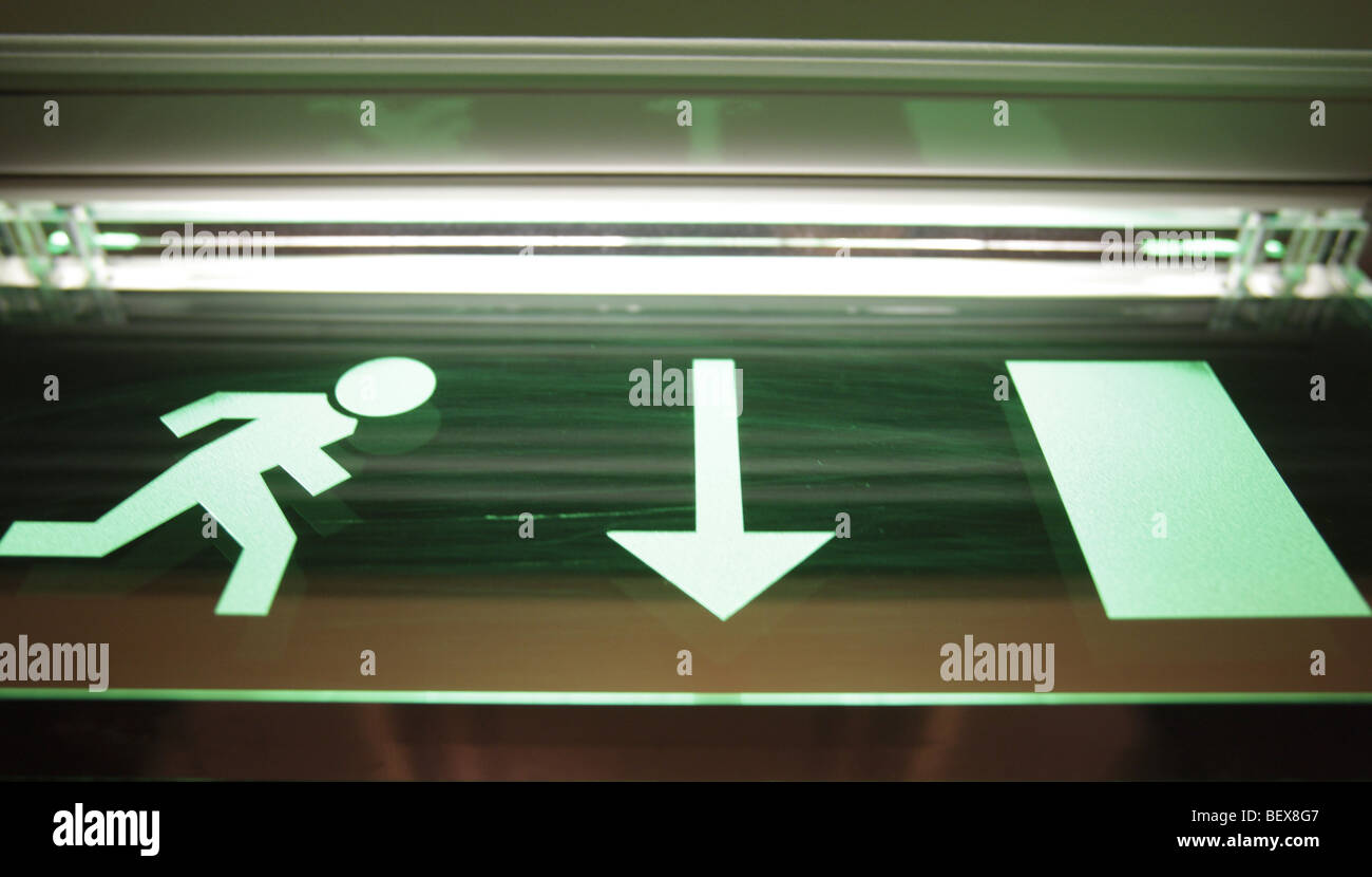 Exit . Munich , Germany Stock Photo