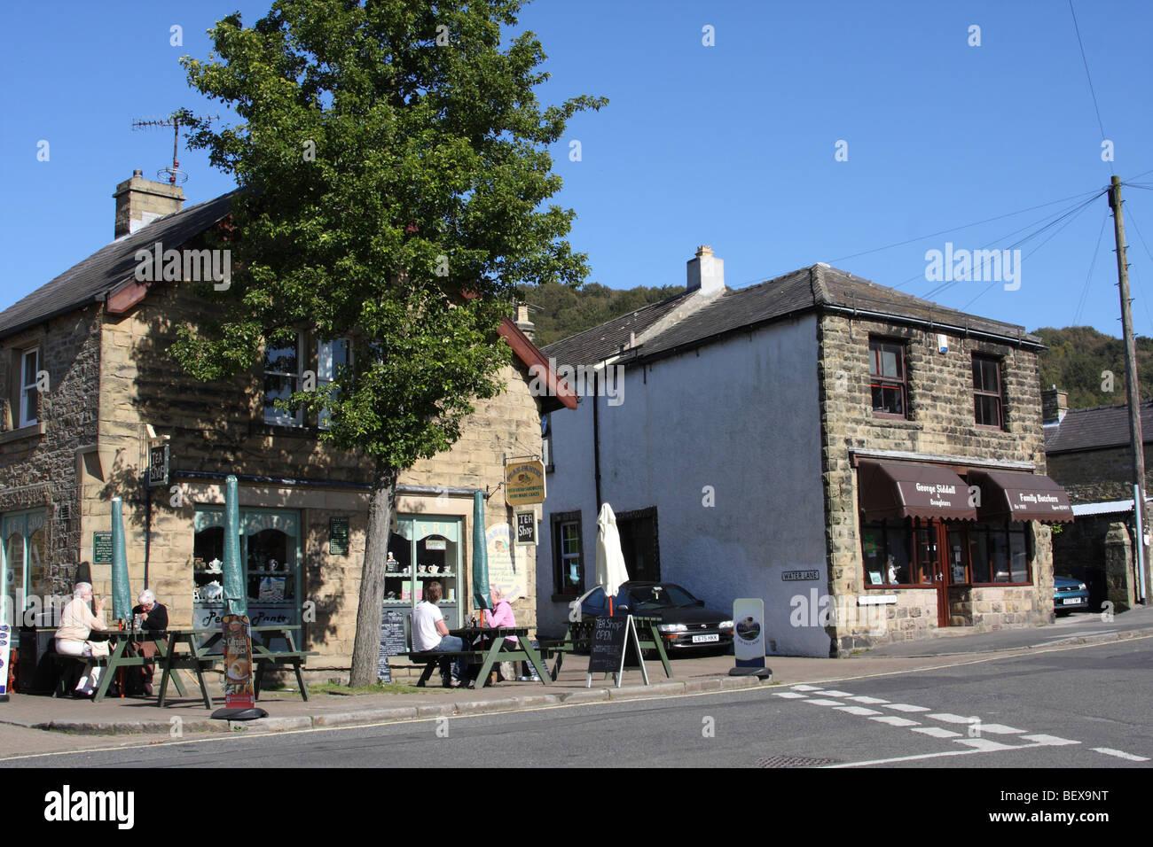 The village of Eyam, Derbyshire, England, U.K. - Stock Image