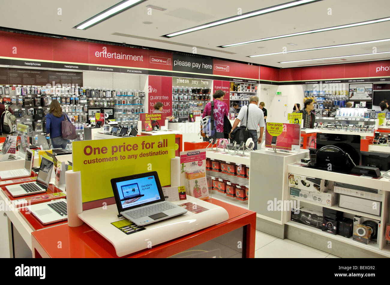 Dixon's Electrical Shop, Terminal 5, Heathrow Airport  London