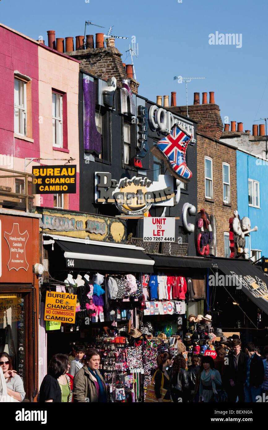 Camden Shops In London