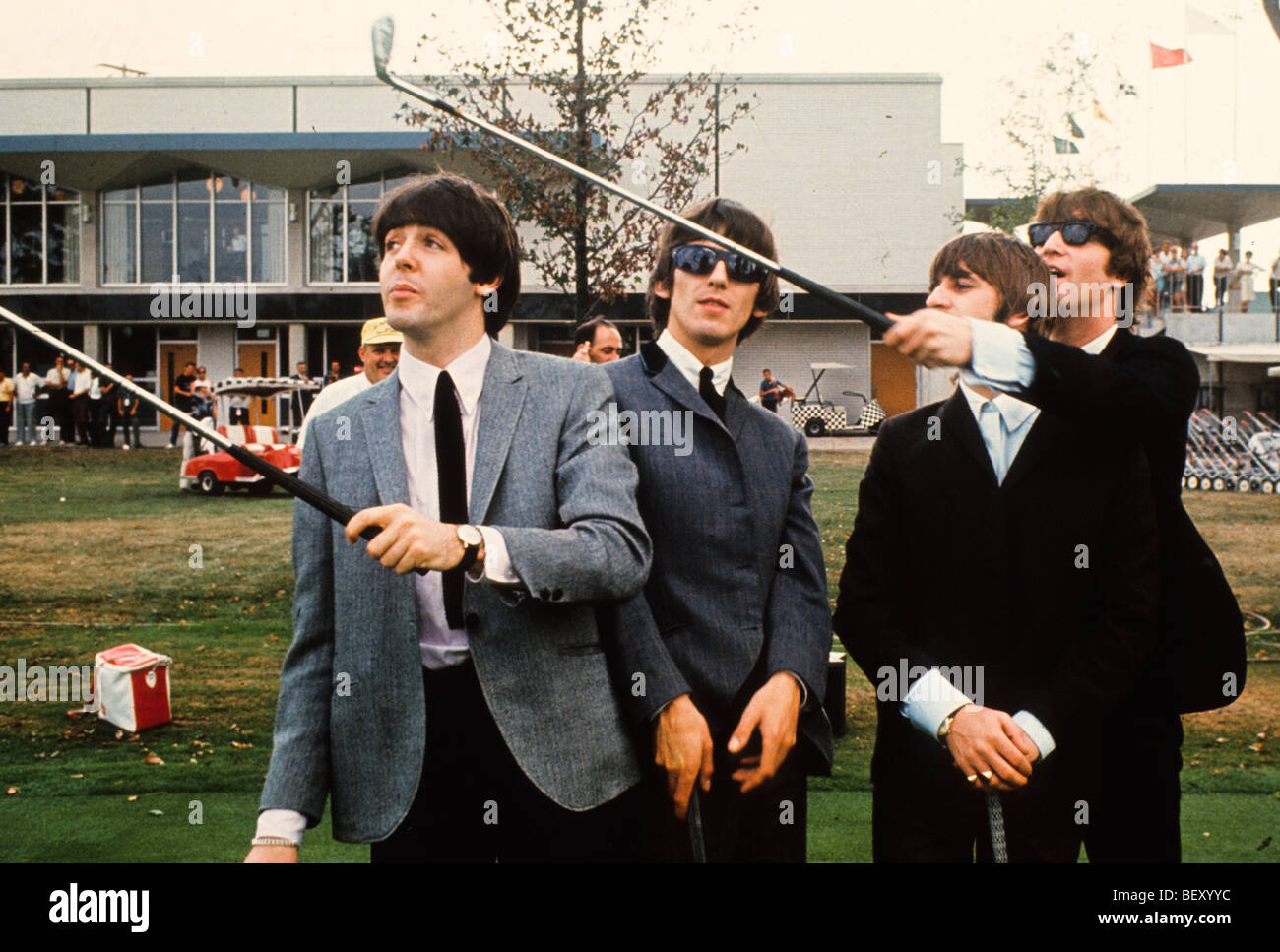the beatles - Stock Image