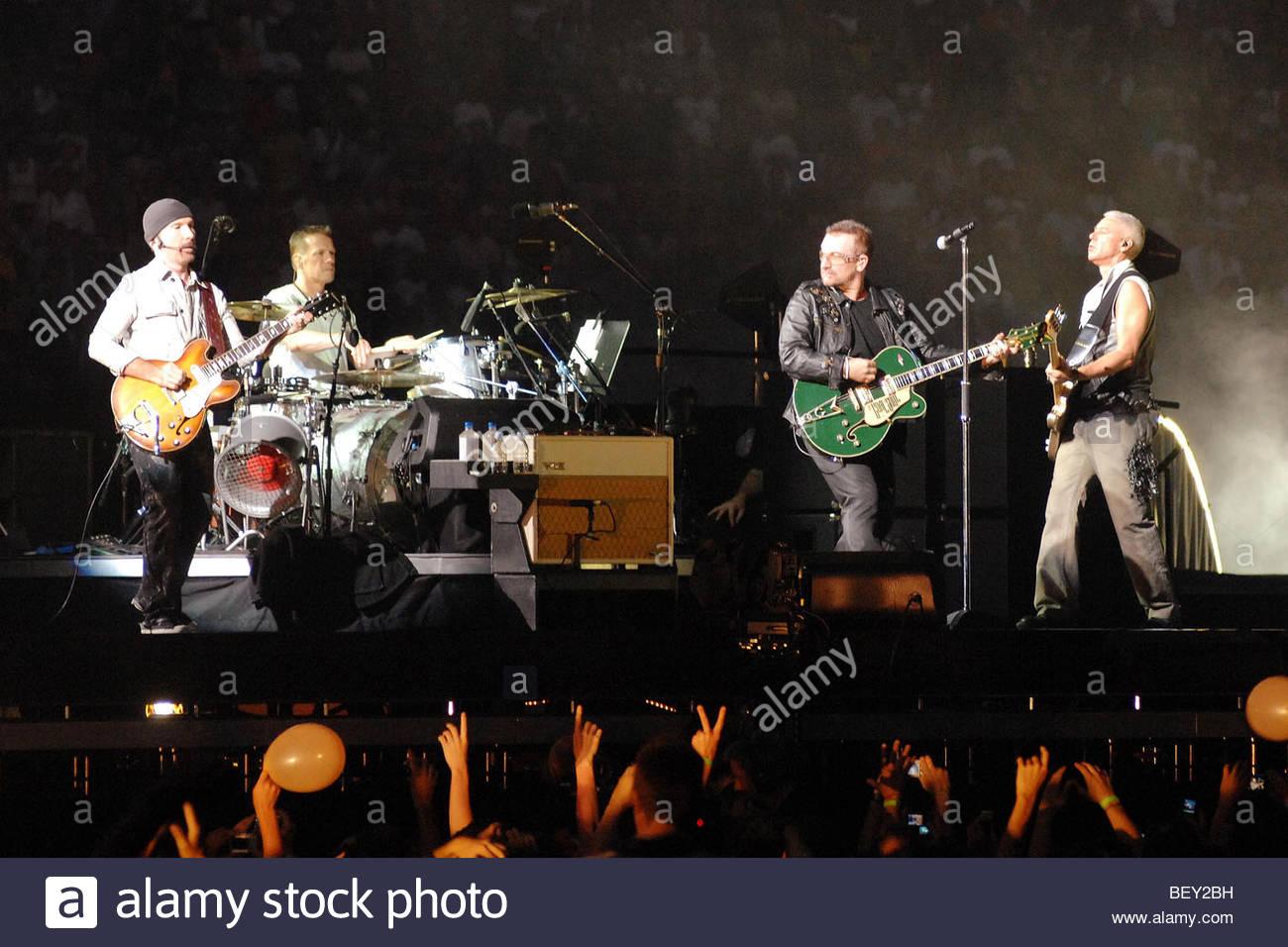 milano 2009, u2 in concert - Stock Image